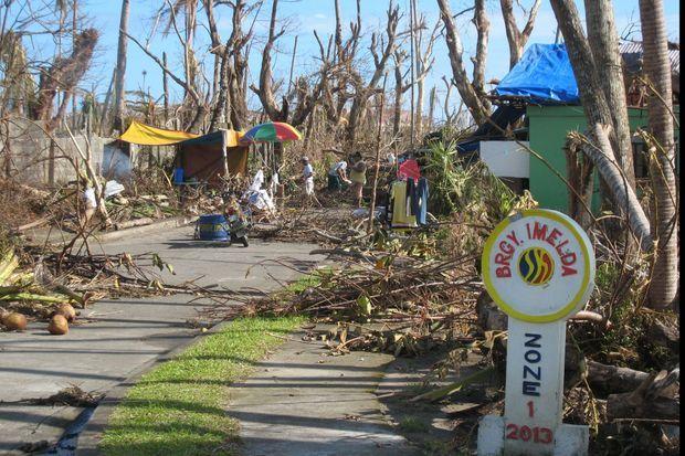 Le quartier « Imelda » à Tolosa, à 20 kms de Tacloban. C'est elle qui a exigé qu'il porte son nom. La famille y possédait une immense plantation.