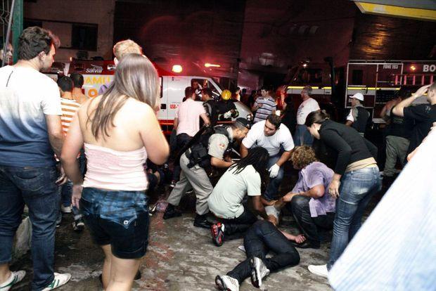 Incendie au Brésil-
