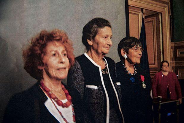 Inséparables jusqu'au bout : Ginette Kolinka avec Marceline Loridan-Ivens et Simone Veil