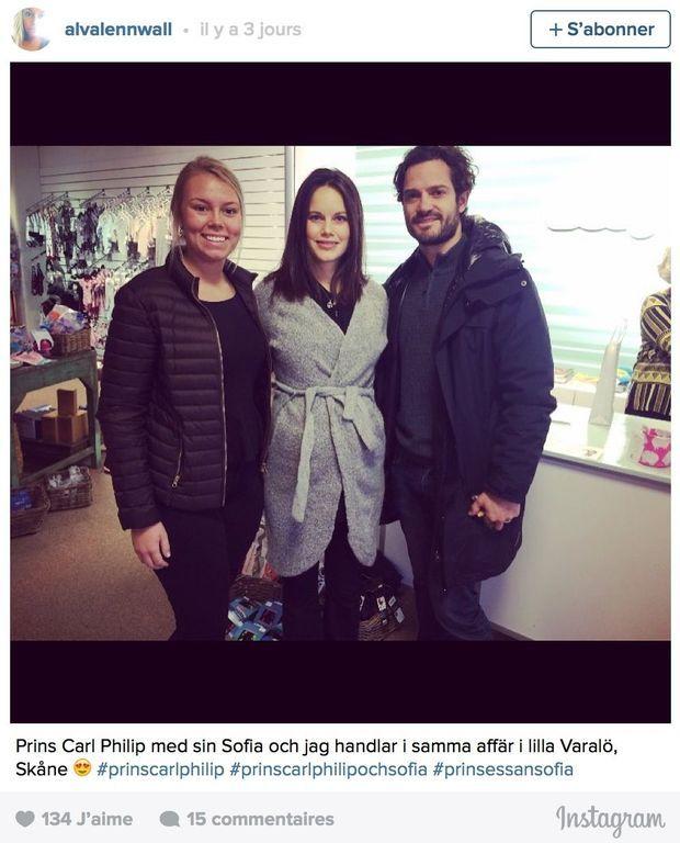 La photo postée par Alva Lennwall sur son compte Instagram