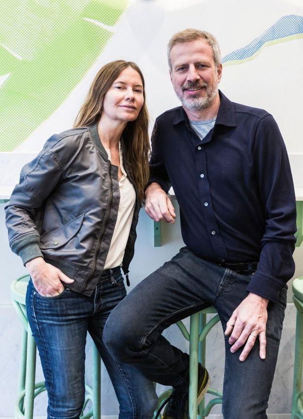 Isabella Capeceet son mari, Xavier Barroux, créateurs du Maisie Café