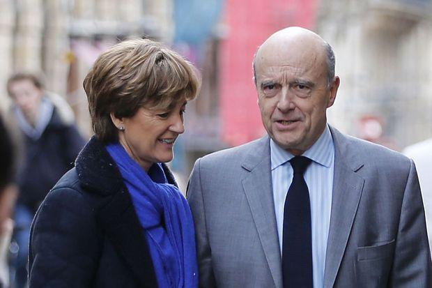 Isabelle et Alain Juppé à Bordeaux le 23 janvier.
