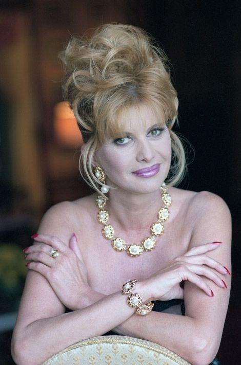Ivana Trump en 1989. Elle est la première femme de Donald et lui a donné 3 enfants: Donald Junior, né en 1977, Ivanka, née en 1981, et Eric, né en 1984. Ils divorceront l'année suivante.