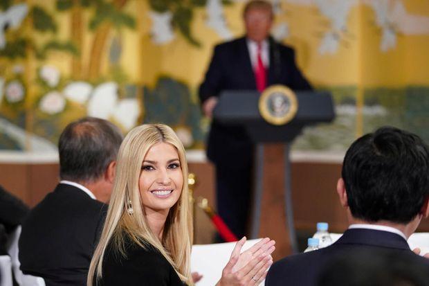Ivanka Trump durant un événement organisé à la Maison Bleue, à Séoul, avec des représentants du monde économique, le 30 juin 2019.