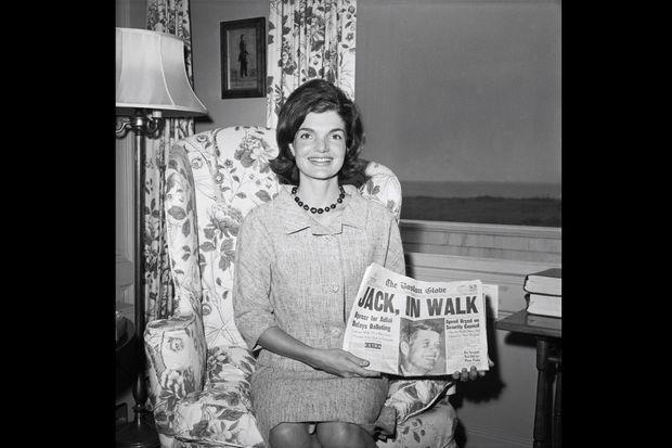 Jackie Kennedy le 14 juillet 1960.