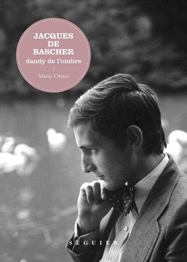 Jacques de Bascher, en couverture de la biographie qui lui a été consacré par Marie Ottavi et parue en 2017 aux éditions Séguier.
