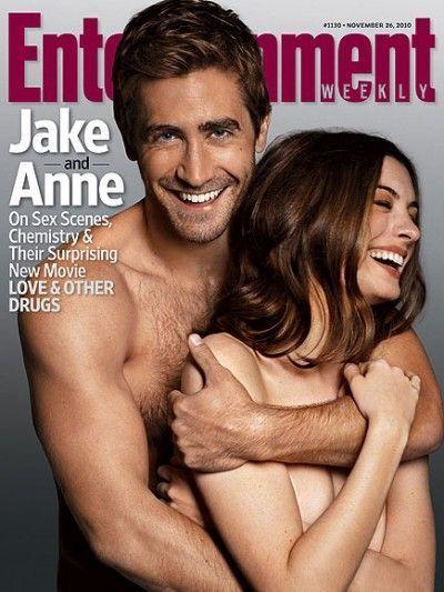 Jake-Gyllenhaal-Anne-Hathaway-nus-
