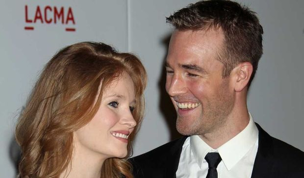 James Van Der Beek et Kimberly Brook -