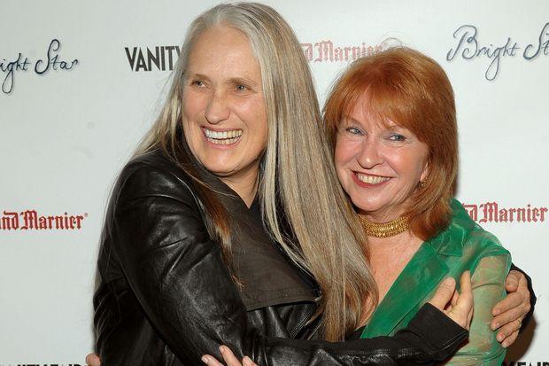 La productrice Jan Chapman avec la réalisatrice Jane Campion, en septembre 2009.