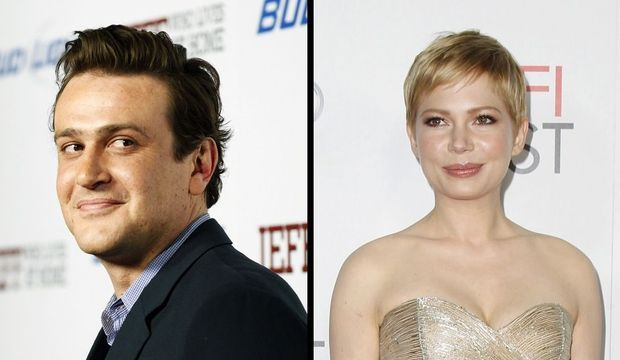 Jason Segel et Michelle Williams-