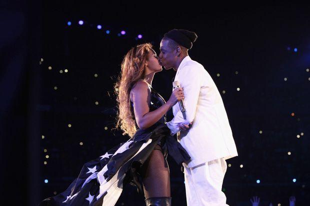 Jay Z et Beyoncé au Stade de France.