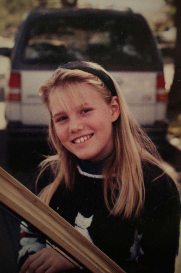 Jaycee Lee Dugard, peu avant son enlèvement.