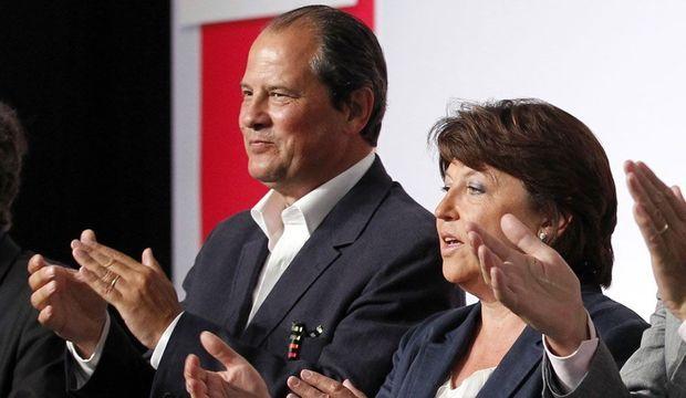 Jean-Christophe Cambadélis Martine Aubry-