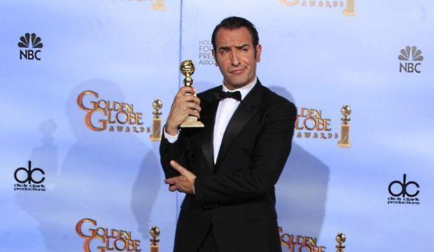 Jean Dujardin Golden Globes 2012-