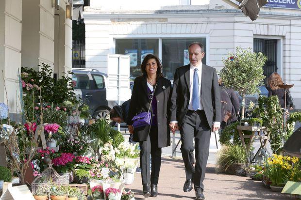 Jean-François Copé et Nadia