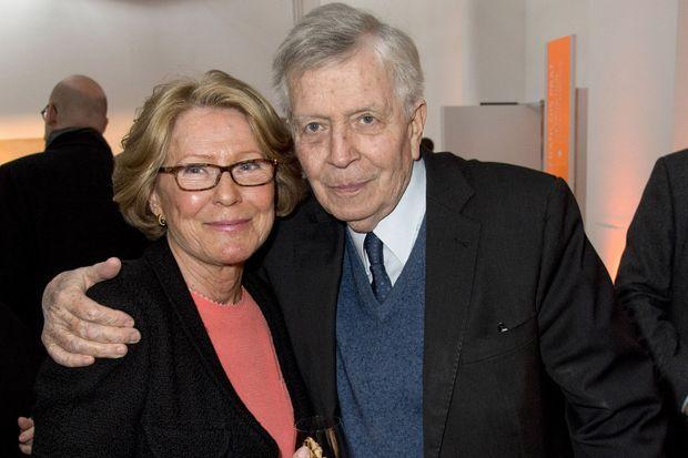 Madame Jean-Francois Prat et Jean-Denis Bredin.