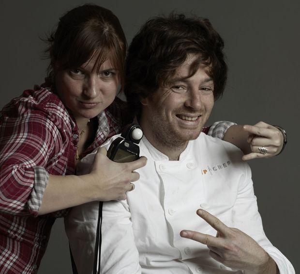 Jean Imbert et sa Photographe Aurelia-