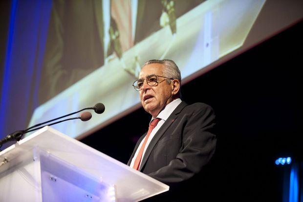 Jean-Marc Pujol en meeting à Perpignan le 5 février dernier.