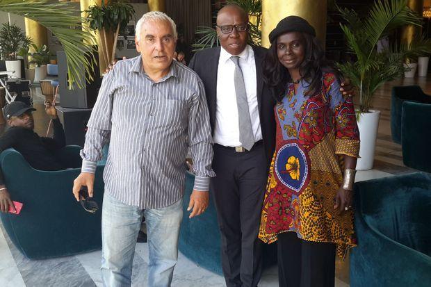 Jean-Michel et Pélagie Denis avec A'Salfo à Abidjan en 2019