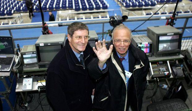 Jean-Michel Larqué Thierry Roland-