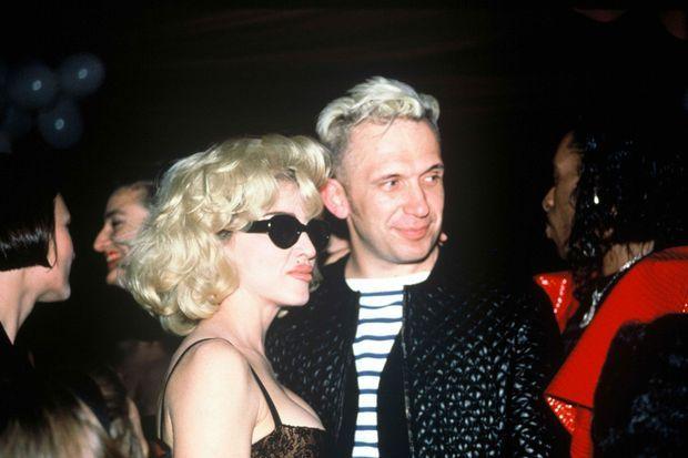 Jean Paul Gaultier et Madonna en 1989