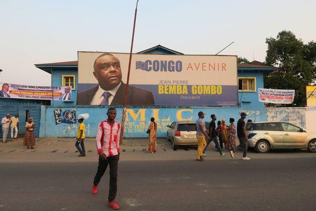 Le siège du parti de Jean-Pierre Bemba à Kinshasa, le 20 juin 2018.