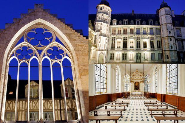 L'Historial Jeanne d'Arc a investi une partie du palais archiépiscopal, entièrement restaurée