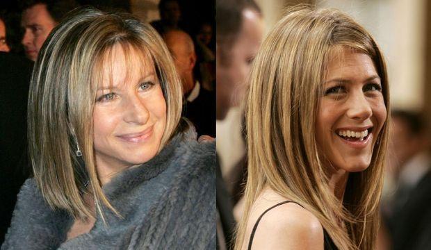 Jennifer Aniston Barbra Streisand (montage)-