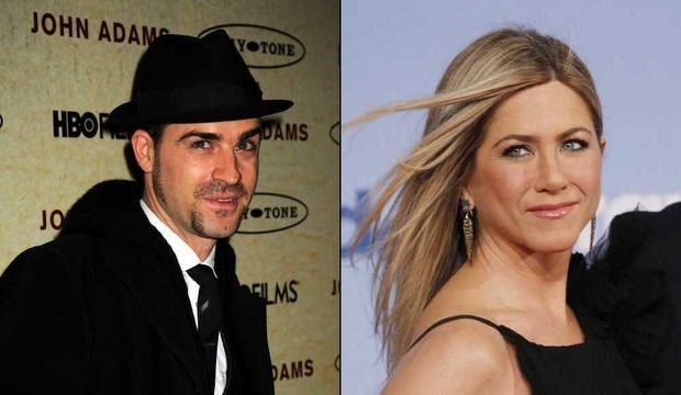Jennifer Aniston et Justin Theroux (montage)-