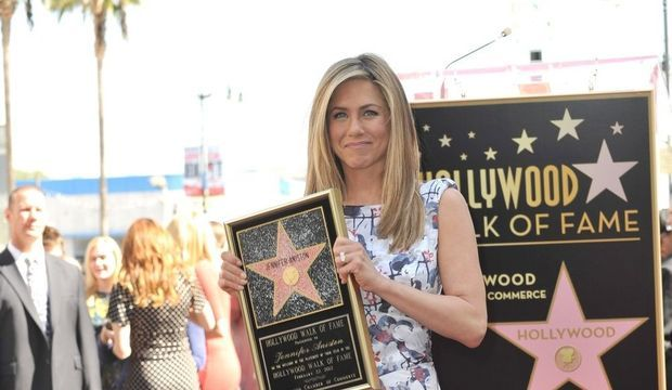 Jennifer Aniston étoile Walk of Fame (6)-