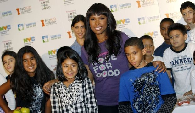 Jennifer Hudson promeut le prgramme Weight Watchers-