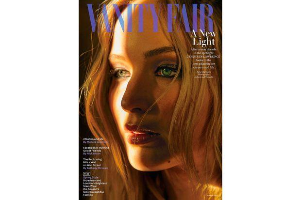 """Jennifer Lawrence en couverture de """"Vanity Fair"""""""
