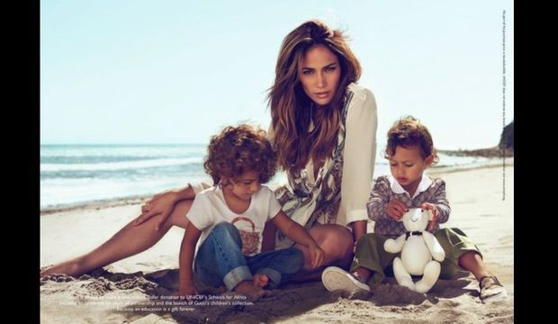 Jennifer Lopez enfants Gucci-