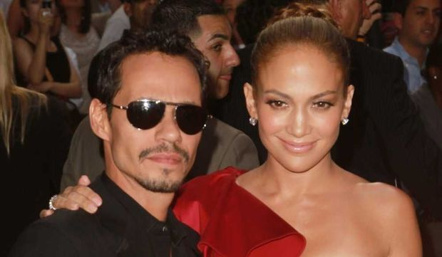 Jennifer Lopez et Marc Anthony-