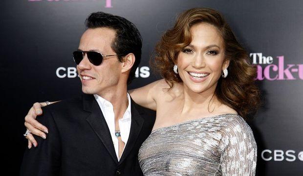 Jennifer Lopez et Marc Anthony -