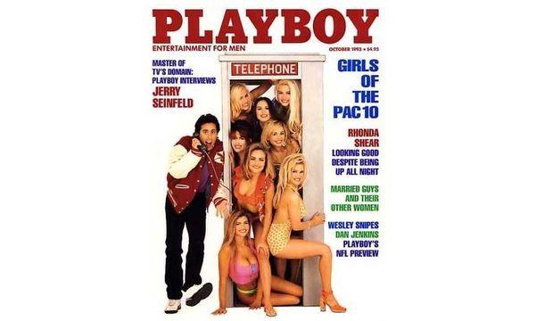 Jenny McCarthy en Une de Playboy en 1993-