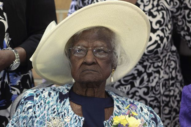 Jeralean Talley, âgée de 115 ans.