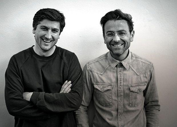 Jérémie Trigano et son frère, Benjamin, installé à Los Angeles.