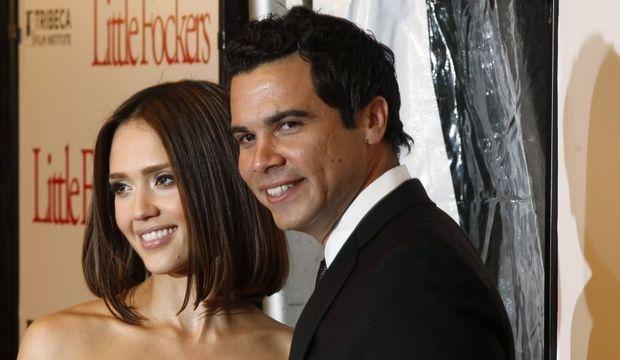 Jessica Alba et Cash Warren-