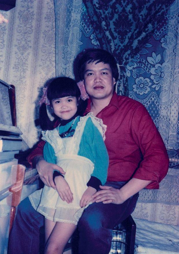 Jessica avec son père