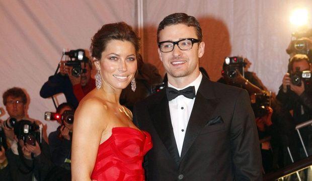 Jessica Biel et Justin Timberlake -