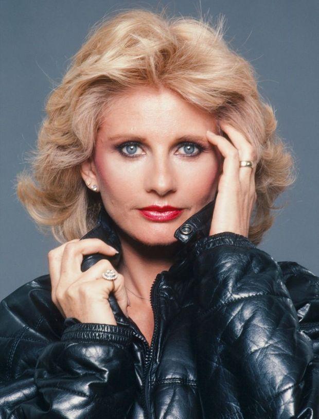 Jill Ireland en 1983.