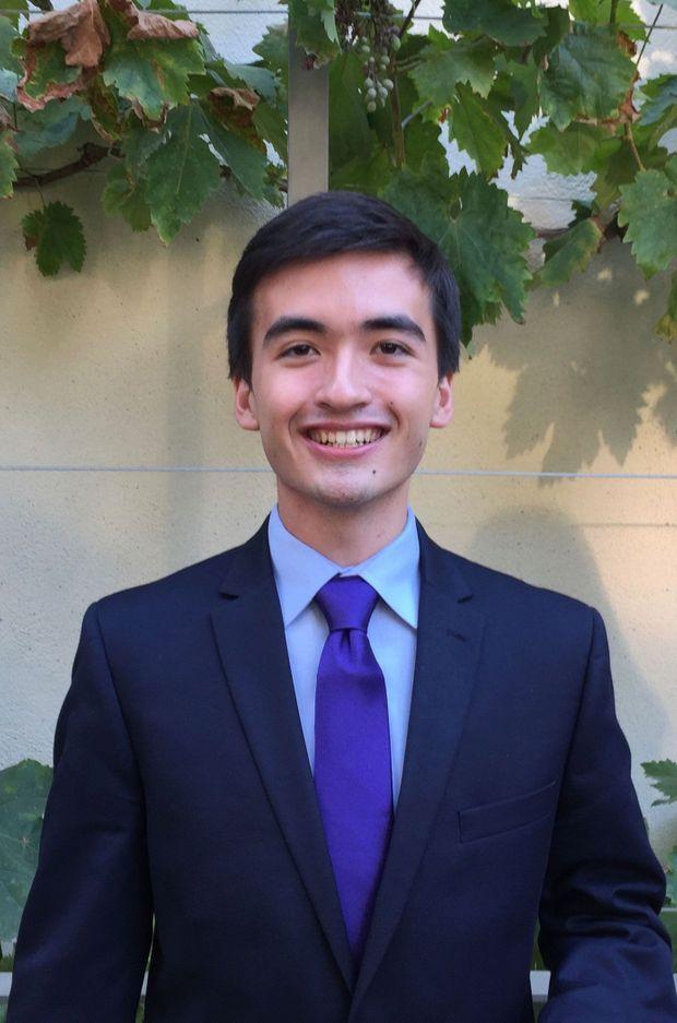 Jimmy Quinn, étudiant au campus euro-américain de Sciences Po à Reims.