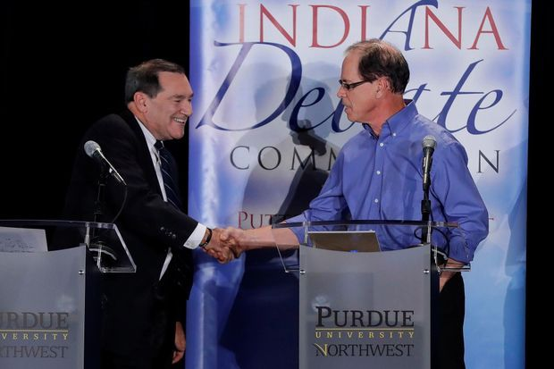 Joe Donnelly et Mike Braun.