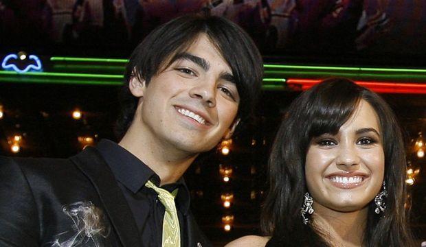 Joe jonas Demi Lovato-