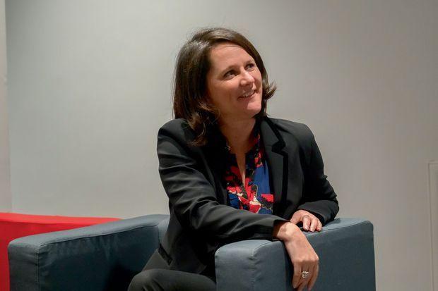 Johanna Rolland (PS), candidate à un deuxième mandat à Nantes.