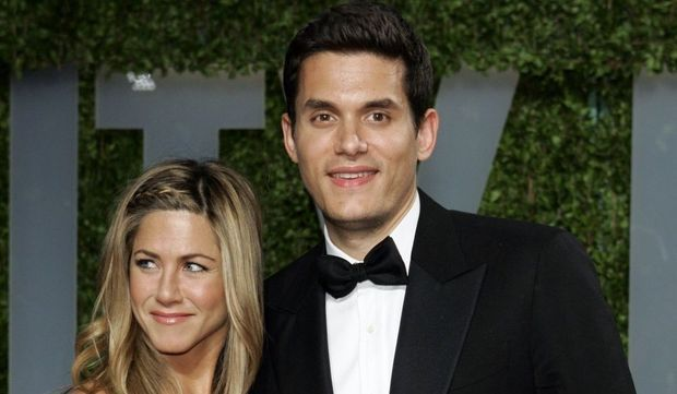 John Mayer et Jennifer Aniston-