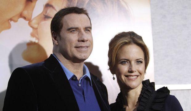 John Travolta et Kelly Preston-