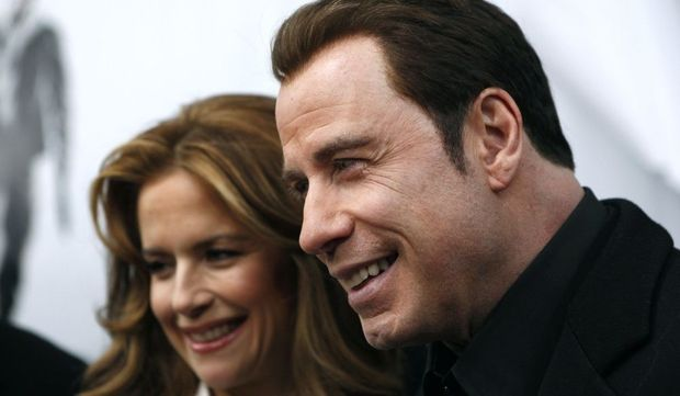 John Travolta Kelly Preston-