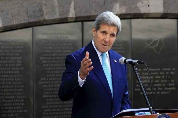 John Kerry, le 4 mai 2015.
